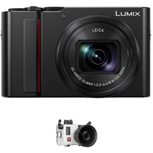 Ikelite Underwater Housing and Panasonic Lumix DC-ZS200 Digital Camera Kit