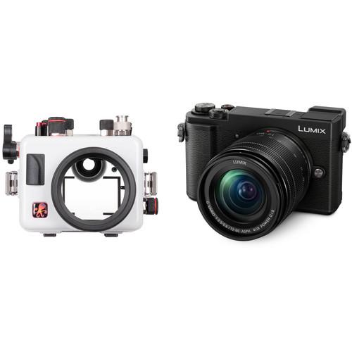 Ikelite Underwater Housing and Panasonic DC-GX9 Mirrorless Micro Four Thirds Digital Camera with 12-60mm Lens