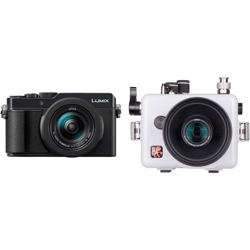 Ikelite Underwater Housing and Panasonic Lumix DC-LX100 II Digital Camera Kit