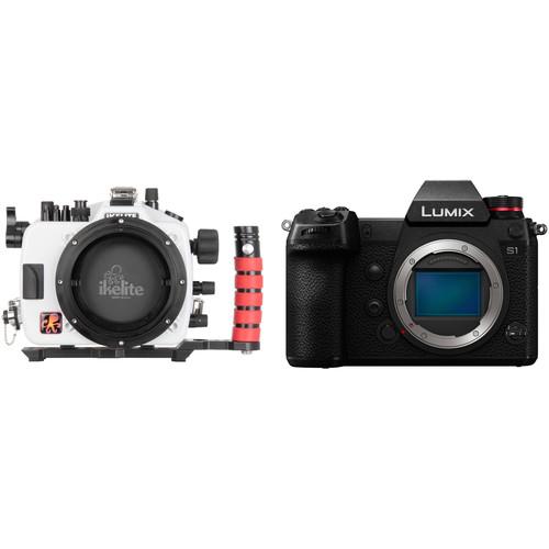 Ikelite Underwater Housing and Panasonic Lumix DC-S1 Mirrorless Digital Camera Body Kit