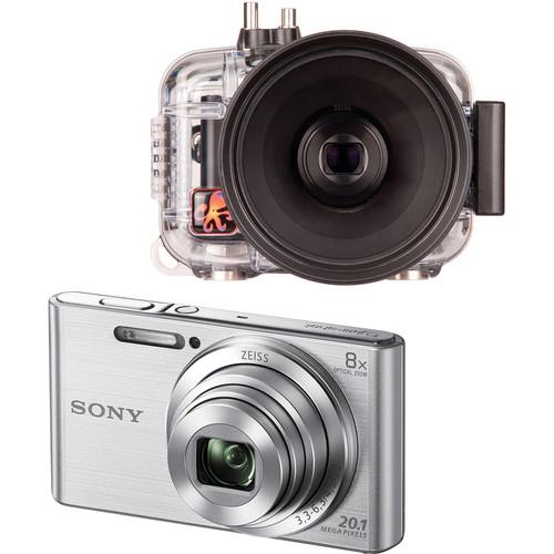 Ikelite Underwater Housing and Sony DSC-W830 Digital Camera Kit