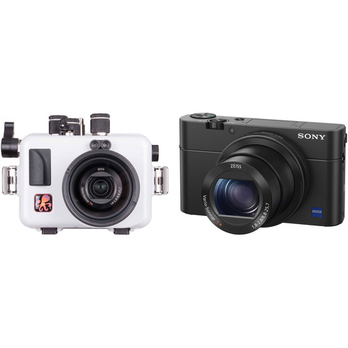 Ikelite Underwater Housing and Sony Cyber-shot DSC-RX100 IV Camera Kit