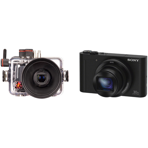 Ikelite Underwater Housing and Sony Cyber-shot DSC-WX500 Digital Camera Kit