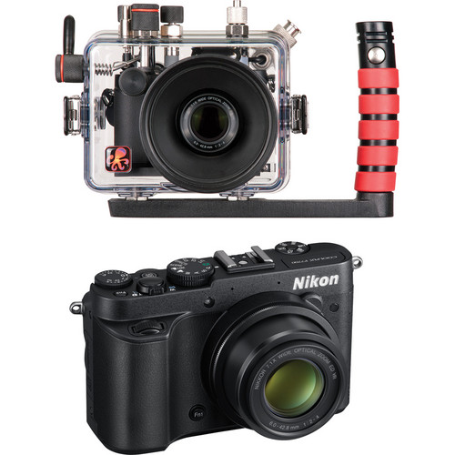 Ikelite Underwater Housing Kit with Nikon COOLPIX P7700 Digital Camera