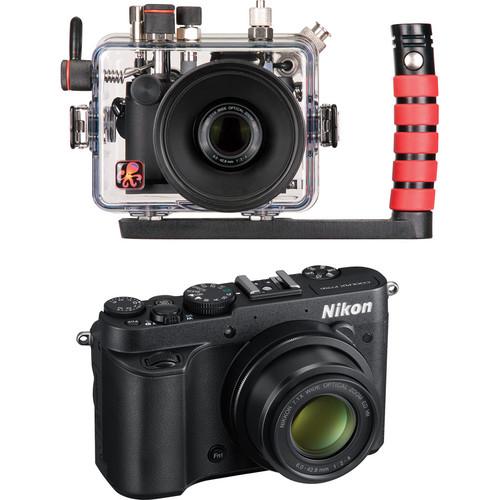 Ikelite Underwater Housing Kit with Nikon COOLPIX P7700 Digital Camera