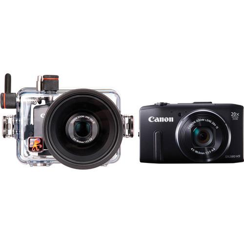 Ikelite Underwater Housing with Canon PowerShot SX280 HS Digital Camera Kit