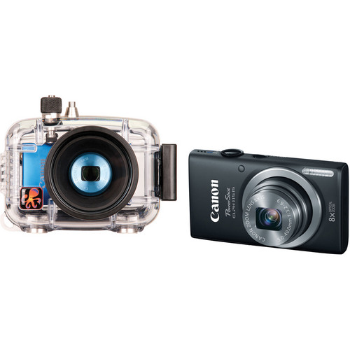 Ikelite Underwater Housing with Canon PowerShot ELPH 115 IS Digital Camera Kit