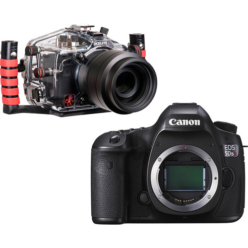 Ikelite Underwater Housing with TTL Circuitry & Canon EOS 5DS R Camera Body Kit