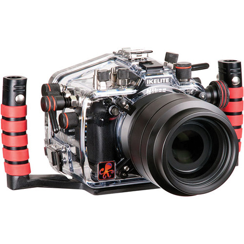 Ikelite Underwater Housing with TTL Circuitry and Nikon D610 DSLR Camera Body Kit