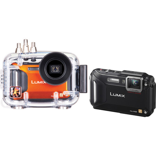 Ikelite Underwater Housing with Panasonic LUMIX DMC-TS5 Digital Camera Kit