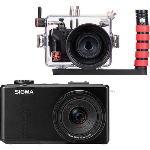 Ikelite Underwater Housing with Sigma DP1 Merrill Compact Digital Camera Kit