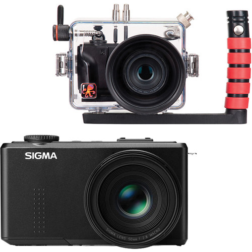 Ikelite Underwater Housing with Sigma DP3 Merrill Compact Digital Camera Kit
