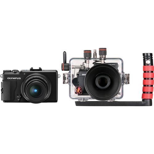 Ikelite Underwater Housing with STYLUS XZ-2 iHS Digital Camera Kit