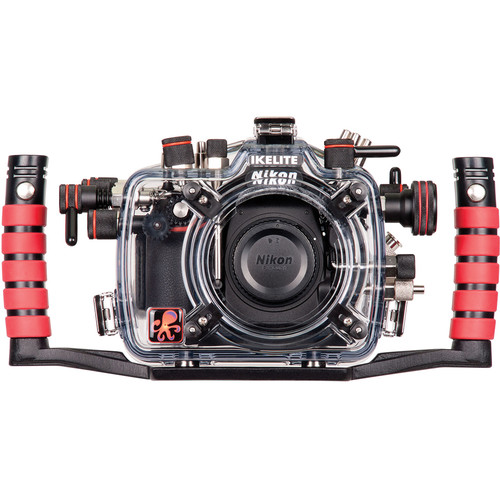 Ikelite Underwater Housing with TTL Circuitry and Nikon D810 DSLR Camera Body Kit