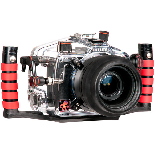 Ikelite Underwater Housing with TTL Circuitry and Canon EOS Rebel T6s DSLR Camera Body Kit