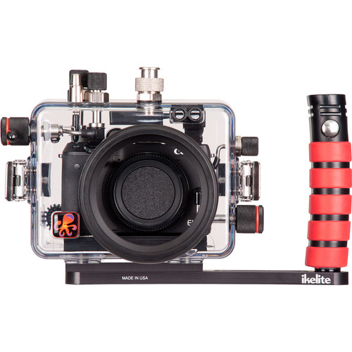 Ikelite Underwater Housing with TTL Circuitry and Canon EOS M3 Mirrorless Camera Body Kit