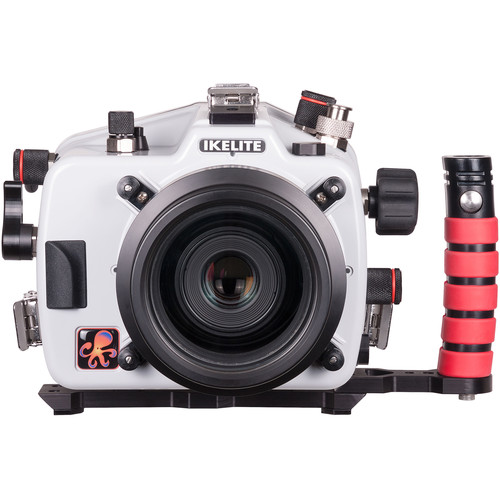 Ikelite Underwater Housing with TTL Circuitry and Canon EOS 80D DSLR Camera Body Kit