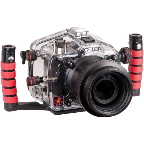 Ikelite Underwater Housing with TTL Circuitry and Canon EOS Rebel T6i DSLR Body Kit