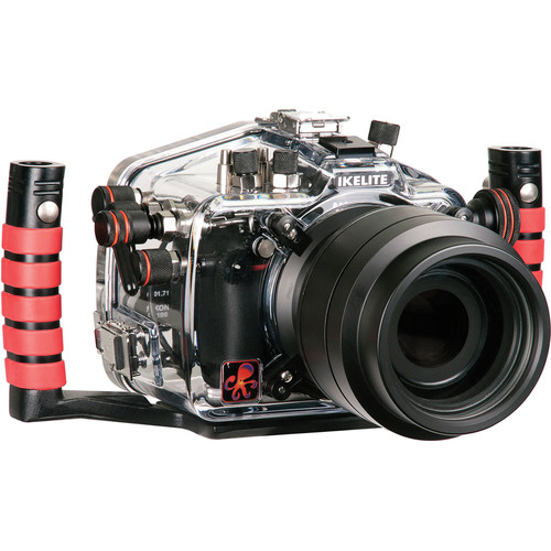 Ikelite Underwater Housing with TTL Circuitry and Nikon D7100 DSLR Camera Body Kit