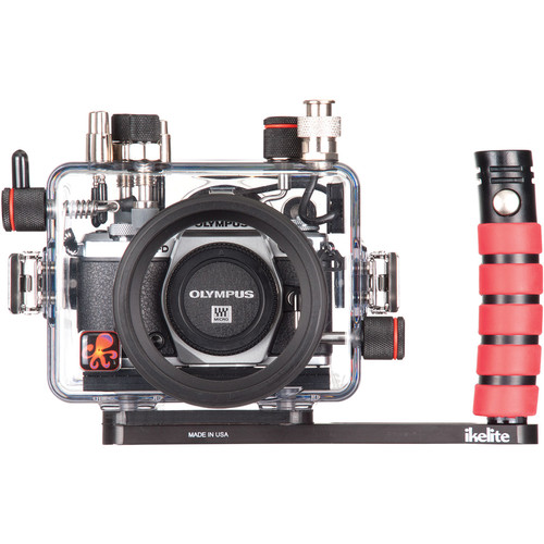 Ikelite Underwater Housing with TTL Circuitry and Olympus OM-D E-M5 Mark II Camera Body Kit