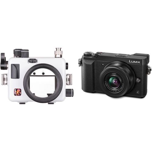 Ikelite Underwater Housing with TTL Circuitry and Panasonic Lumix DMC-GX85 Micro Four Thirds Camera Body Kit