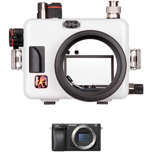 Ikelite Underwater Housing with TTL Circuitry and Sony Alpha a6300 Camera Body Kit