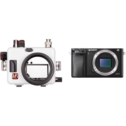 Ikelite Underwater Housing with TTL Circuitry and Sony Alpha a6000 Camera Body Kit