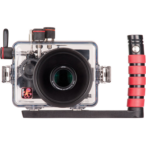 Ikelite Underwater TTL Housing and Panasonic Lumix DMC-LX100 Digital Camera Kit