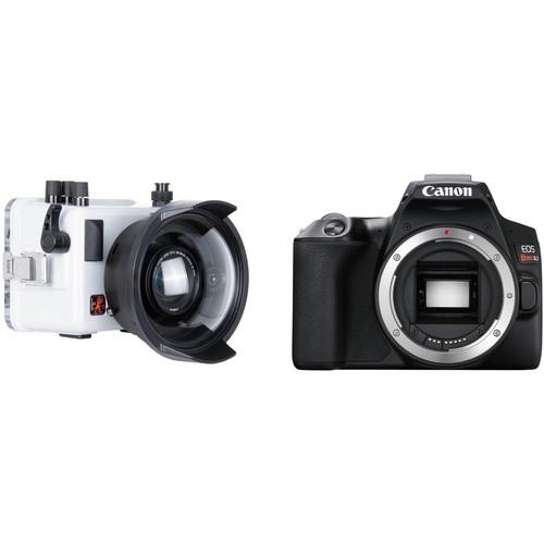 Ikelite Underwater TTL Housing and Canon EOS SL3 Camera Body Kit