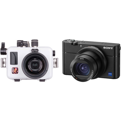 Ikelite Updated Underwater Housing and Sony Cyber-shot RX100 V Camera Kit