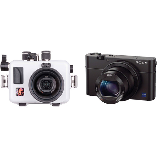 Ikelite Updated Underwater Housing and Sony Cyber-shot RX100 III Camera Kit