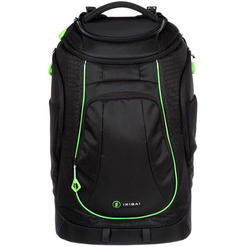 Ikigai Large Rival Backpack with Camera Cell (Black)
