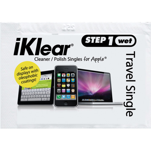 iKlear Travel Singles Eco Kit (Step 1 Wet, Pack of 200)