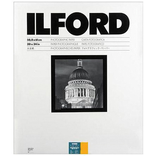 "Ilford Multigrade IV RC DeLuxe Paper (Satin, 20 x 24"", 10 Sheets)"