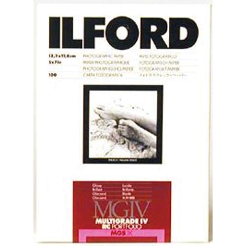 "Ilford Multigrade IV RC Portfolio Paper (Glossy, 5 x 7"", 100 Sheets)"