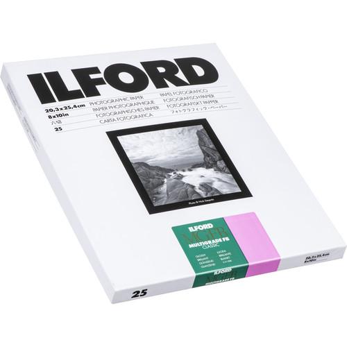 "Ilford Multigrade FB Classic Paper (Glossy, 8 x 10"", 25 Sheets)"