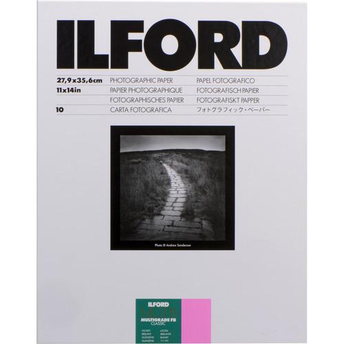 "Ilford Multigrade FB Classic Paper (Glossy, 11 x 14"", 10 Sheets)"