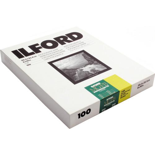 """Ilford Multigrade FB Classic Matt Variable Contrast Paper (8 x 10"""", 100 Sheets)"""