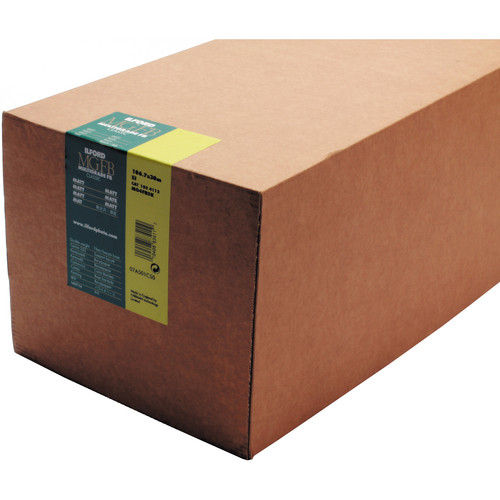 "Ilford Multigrade FB Classic Matt Variable Contrast Paper (50"" x 98' Roll)"