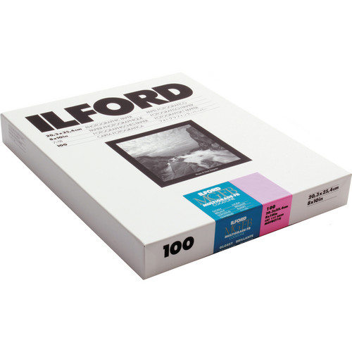 "Ilford Multigrade FB Cooltone Variable Contrast Paper (8 x 10"", 100 Sheets)"