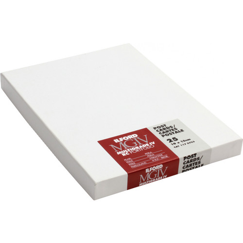 """Ilford Multigrade IV RC Portfolio Paper (Pearl, 4 x 6"""", 25 Sheets)"""