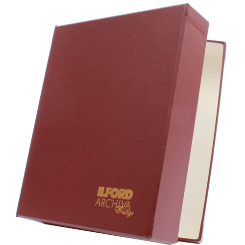 """Ilford Archiva Prestige Portfolio Box (8.25 x 11.75"""", A4)"""