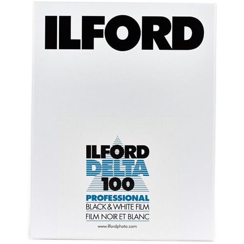 """Ilford Delta 100 Professional Black and White Negative Film (6 x 7"""", 25 Sheets)"""