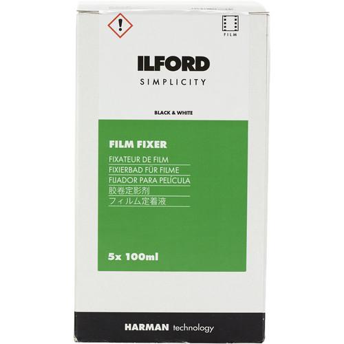 Ilford SIMPLICITY Film Fixer (100mL Sachet, 5-Pack)