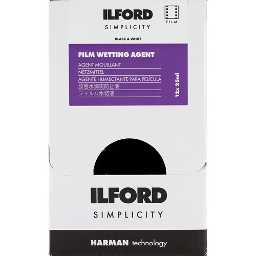 Ilford SIMPLICITY Wetting Agent (25mL Sachet, 12-Pack)