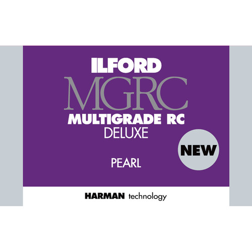 "Ilford MULTIGRADE RC Deluxe Paper (Pearl, 5 x 7"", 25 Sheets)"