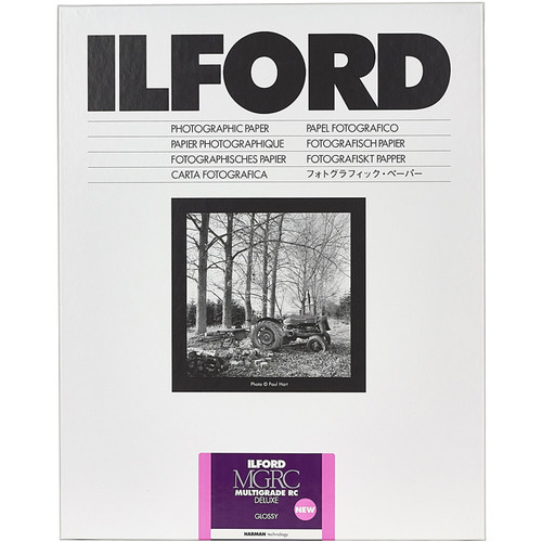 Ilford MULTIGRADE RC Deluxe Paper (Glossy, 12 x 16 50 Sheets)