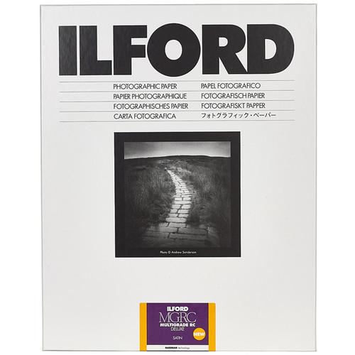"Ilford MULTIGRADE RC Deluxe Paper (Satin, 3.5 x 5"", 100 Sheets)"