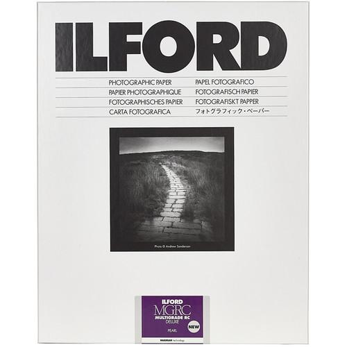 Ilford MULTIGRADE RC Deluxe Paper (Pearl, 8 x 10 1000 Sheets)