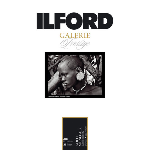 "Ilford GALERIE Prestige Gold Mono Silk Limited Edition Paper (13 x 19"", 25 Sheets)"
